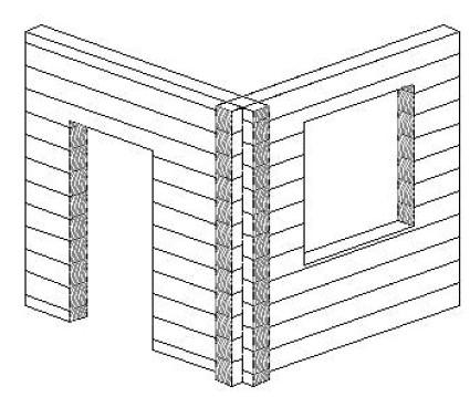 Nella tecnica tradizionale del blockbau possibile che si possano osservare nel tempo cedimenti for Costruire un nuovo processo di prestito a casa