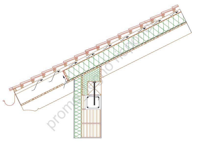 Devo realizzare un tetto a vista in legno come posso for Tettoia inclinata del tetto