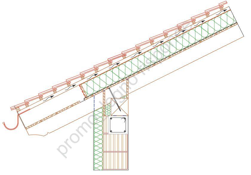 Come realizzare il collegamento tra un falso puntone e il for Tetti in legno particolari costruttivi